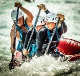 GB Ladies Rafting Team at Lee Valley WWC 2015
