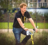Prince Harry Invictus Games Olympic Park London 2014