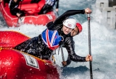 GB Womens U19 Rafting at Lee Valley WWC