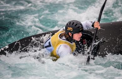 Jade Hollick at the British Open