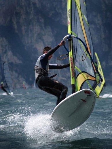Winsurfing Lake Garda Italy