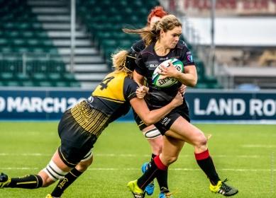 Saracens Ladies RFC vs Bristol Ladies RFC Allianz Stadium