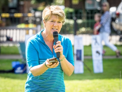Claire Balding Super Saturday of Sport Chiswick 2016