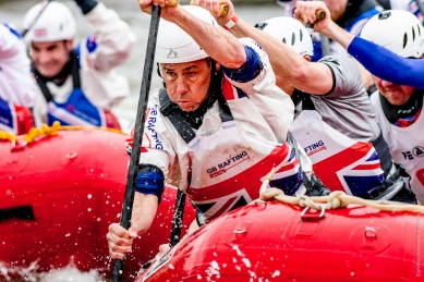 GB Mens Maters Rafting Team 2017