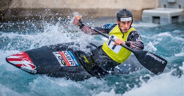 0709 Canoe Slalom 2017 Senior, U23 & Junior Lee Valley White Water centre