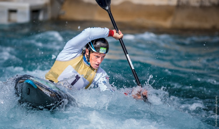 0937 Canoe Slalom 2017 Senior, U23 & Junior Lee Valley White Water centre