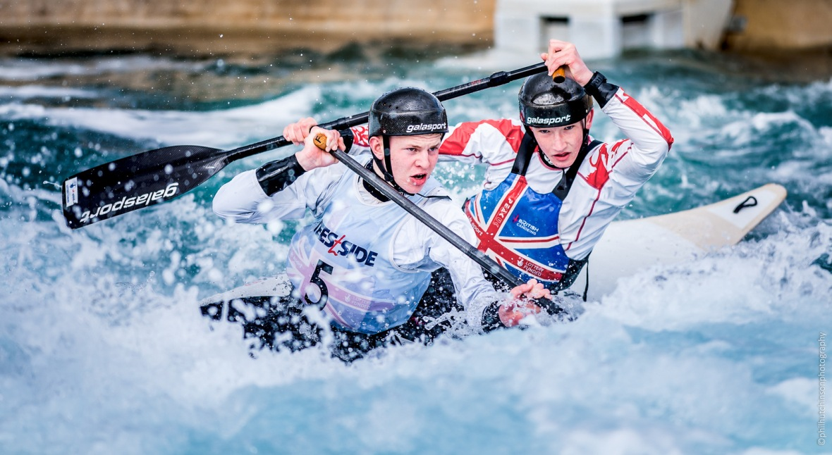 0956 Canoe Slalom 2017 Senior, U23 & Junior Lee Valley White Water centre