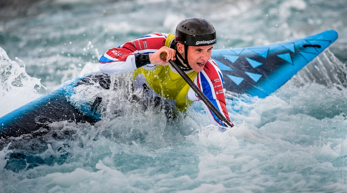 0984 Canoe Slalom 2017 Senior, U23 & Junior Lee Valley White Water centre
