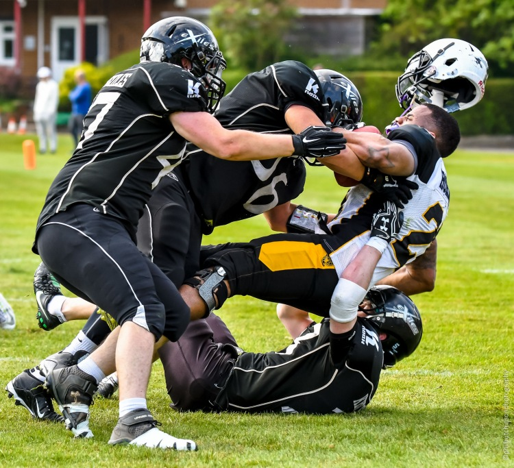 BAFA National League Division One, London Hornets vs Kent Exiles