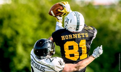 London Hornets vs Kent Exiles BAFANL