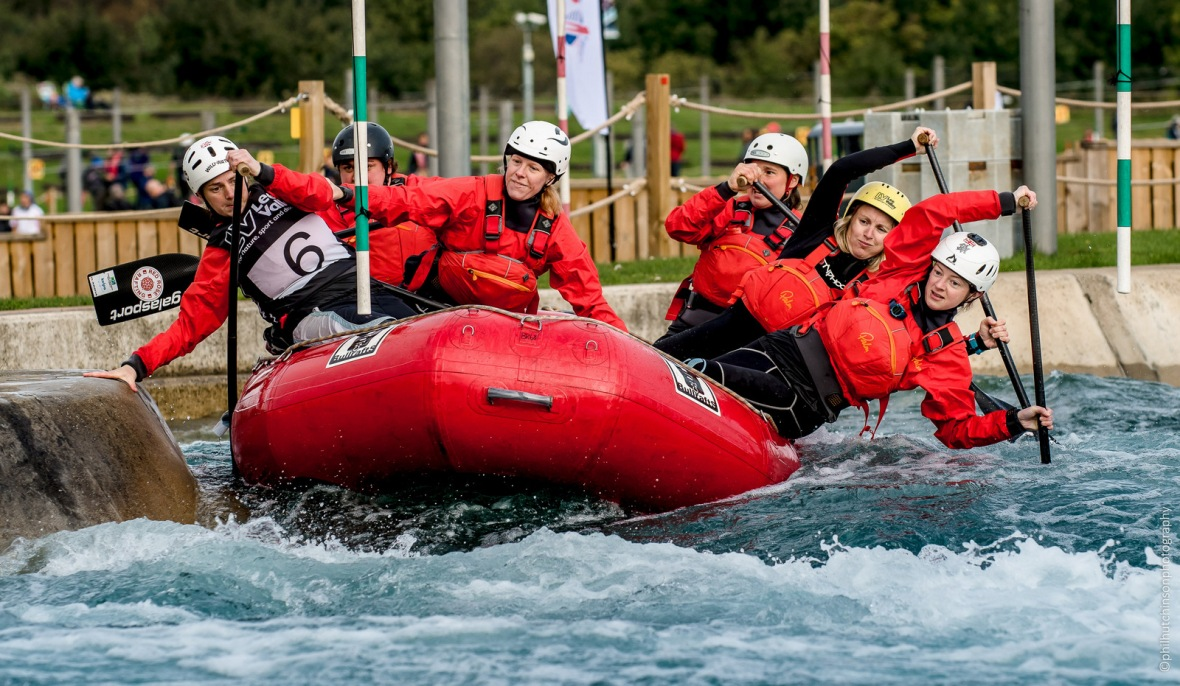The British Open Rafting at Lee Valley White Water Centre