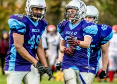 UCL Emperors vs City University in British University American Football BUCS 2A Division South Conference