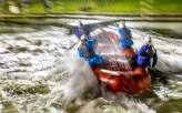 British Rafting National Selections at Holme Pierrepont National Water Sports Centre Nottingham on Saturday 10th and Sunday 11th February 2018, England. Photo by Phil Hutchinson.