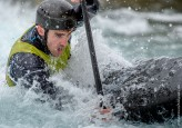 Thomas Quinn competing at the British Canoeing Slalom S, U23 & J Selections at Lee Valley White Water Centre London