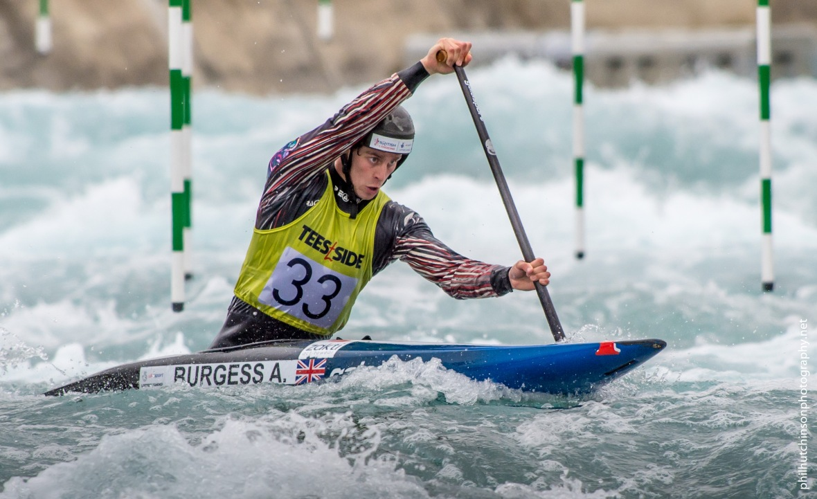 British Canoeing Slalom S, U23 & J Selections at Lee Valley White Water Centre London