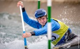 competing at the British Canoeing Slalom S, U23 & J Selections at Lee Valley White Water Centre London