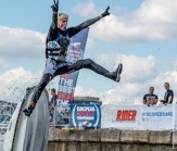 Jakub Panak competing at JSRA International & British Freestyle Round 2 Docklands 2 June 2018
