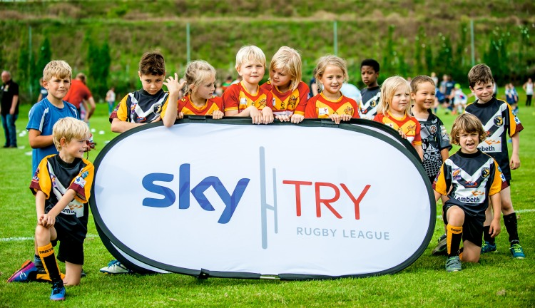 Sky Try Festival at The Hive, Barnet. 26 August 2017