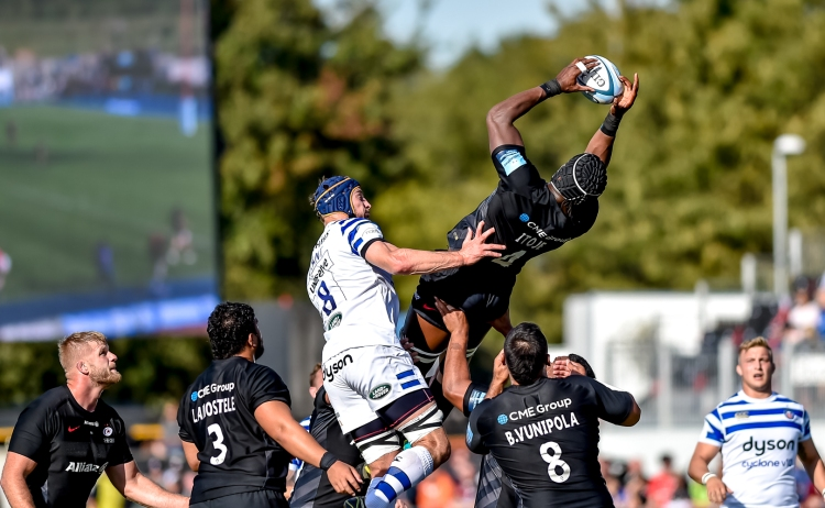 Saracens v Bath Rugby Gallagher Premiership 29/09/2018.