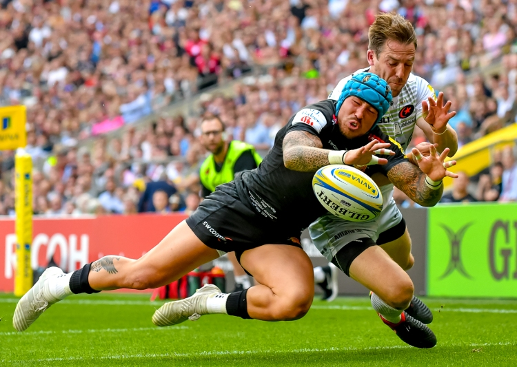 Exeter Chiefs v Saracens Aviva Premiership Final 26/05/2018.