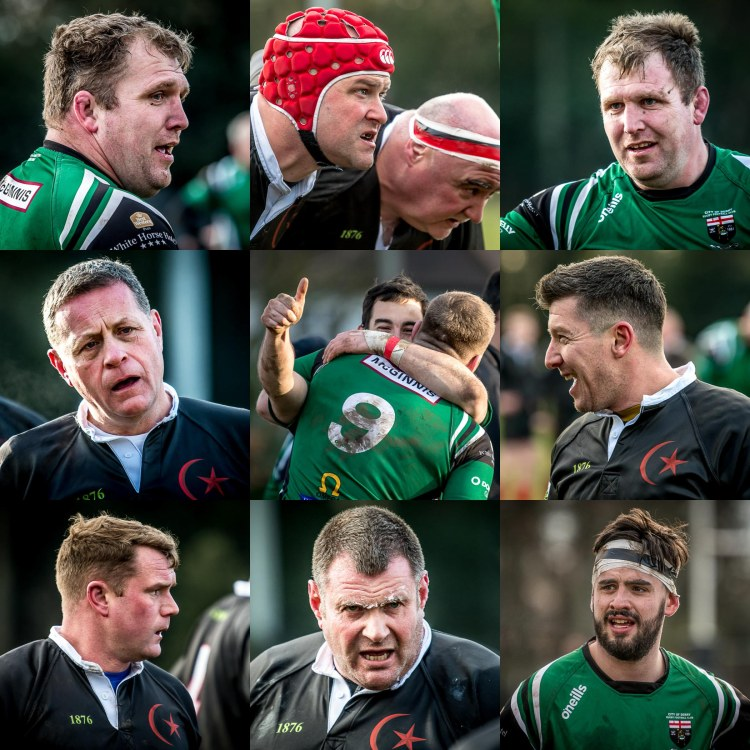 Saracens vs Derry Grid 50% size
